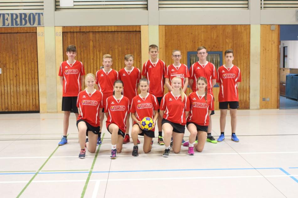 B-Jugend, verstärkt mit A- und C-Jugendspielern